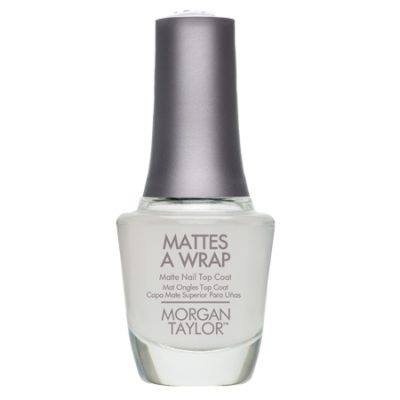 Lac de unghii top coat MATTES A WRAP (efect mat) 15 ml