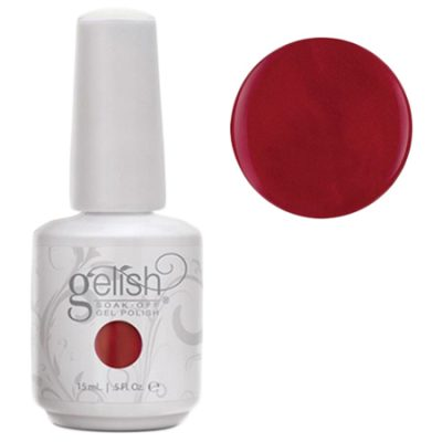 Gel Soak Off GELISH Man Of The Moment - Medium Red Crème