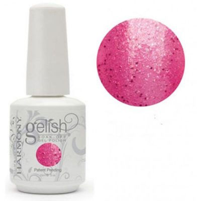 Gel Soak Off GELISH HIGH BRIDGE - PINK WITH FUCHSIA