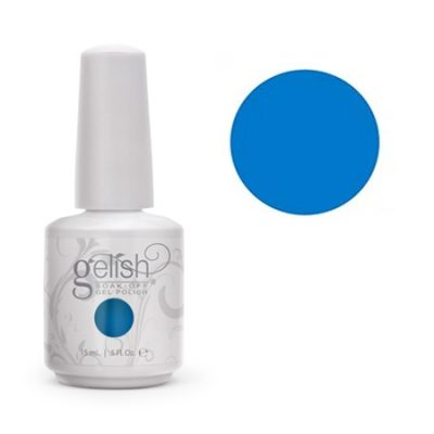 Gel Soak Off GELISH OOBA OOBA BLUE- NEON BLUE CREME