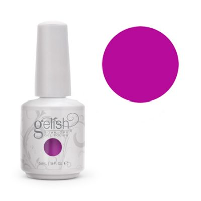 Gel Soak Off GELISH CARNAVAL HANGOVER- NEON PURPLE