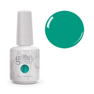 Gel Soak Off GELISH RUB ME THE SARONG WAY - TEAL CREAM