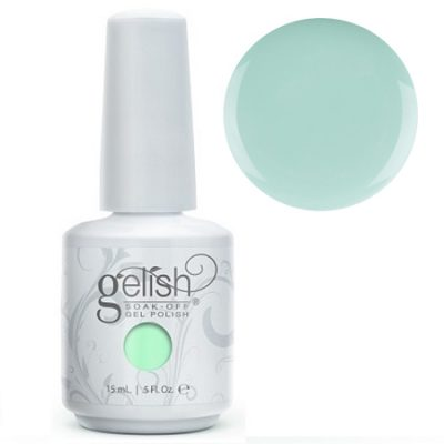 Gel Soak Off GELISH KISS ME I'M A PRINCE - MINT GREEN