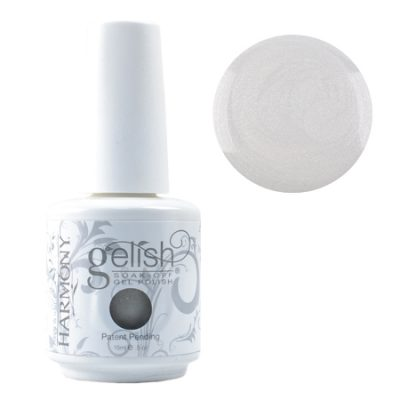 Gel Soak Off GELISH The Big Chill - White Gray Shimmer