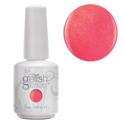 Gel Soak Off GELISH Hip Hot Coral