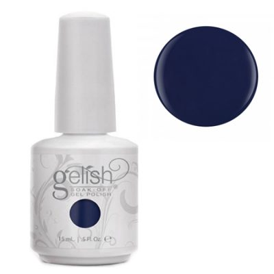 Gel Soak Off GELISH We're In The Navy Now - dark blue