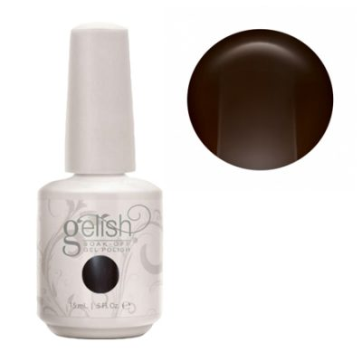 Gel Soak Off GELISH STRUT YOUR STUFF - DARK BROWN