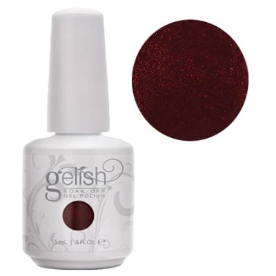 Gel Soak Off GELISH I'm Snow Angel - Deep Red