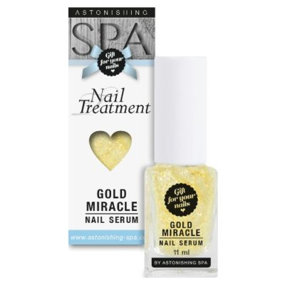 tratament unghii gold_miracle nail_serum
